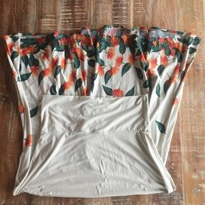 LuLaRoe floral falling petals maxi skirt